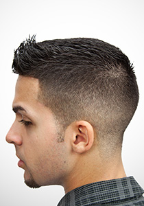 Half Fade With Spiky Top One Day Access