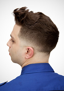 Pompadour low skin fade (bald fade) One Day Access
